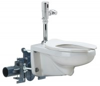 The Zurn High Efficiency Toilet and Carrier (HETC) System