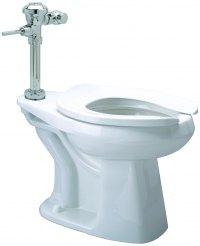 Z5665.441  1.1GPF HET AV Manual Diaphragm ADA Floor Mounted Toilet System