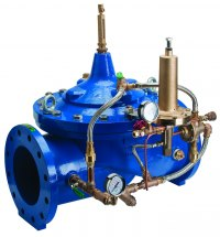 The new Zurn Wilkins ZW222 Altitude Valve for water level control in reservoirs and tanks