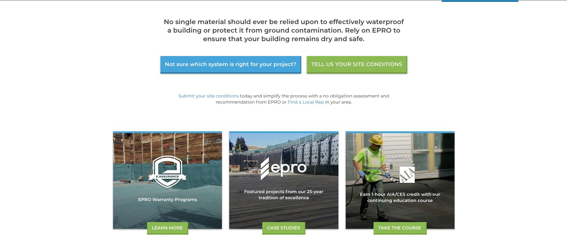 EPRO Launches New Website | LarsonO'Brien Pressroom