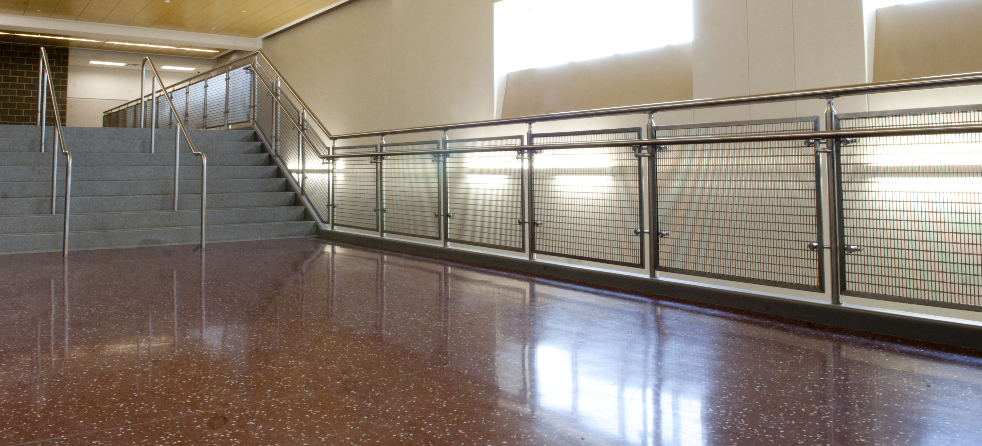 Banker Wire Precision Weaves Infill Panels For Texas High