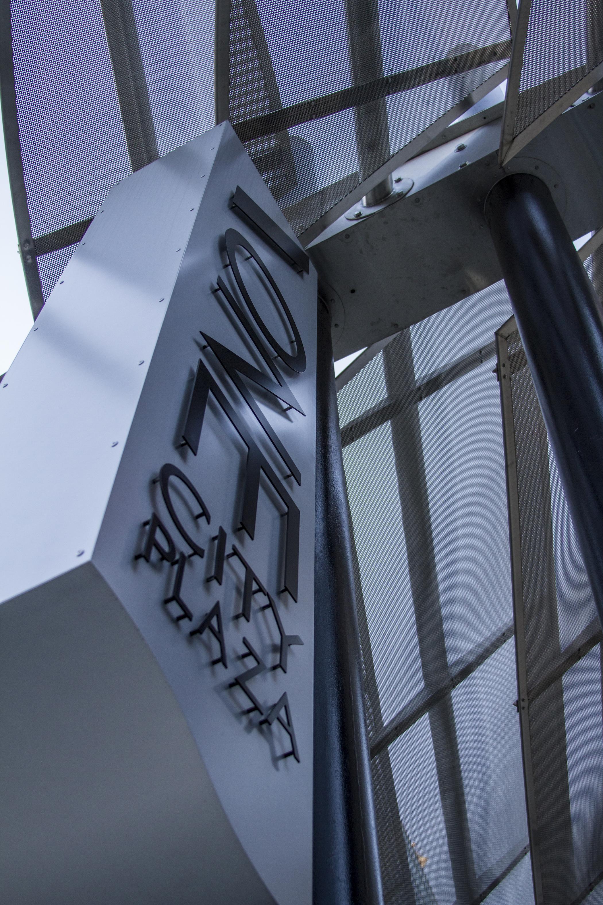 City Center Comes Together Under Banker Wire Mesh | LarsonO\'Brien ...