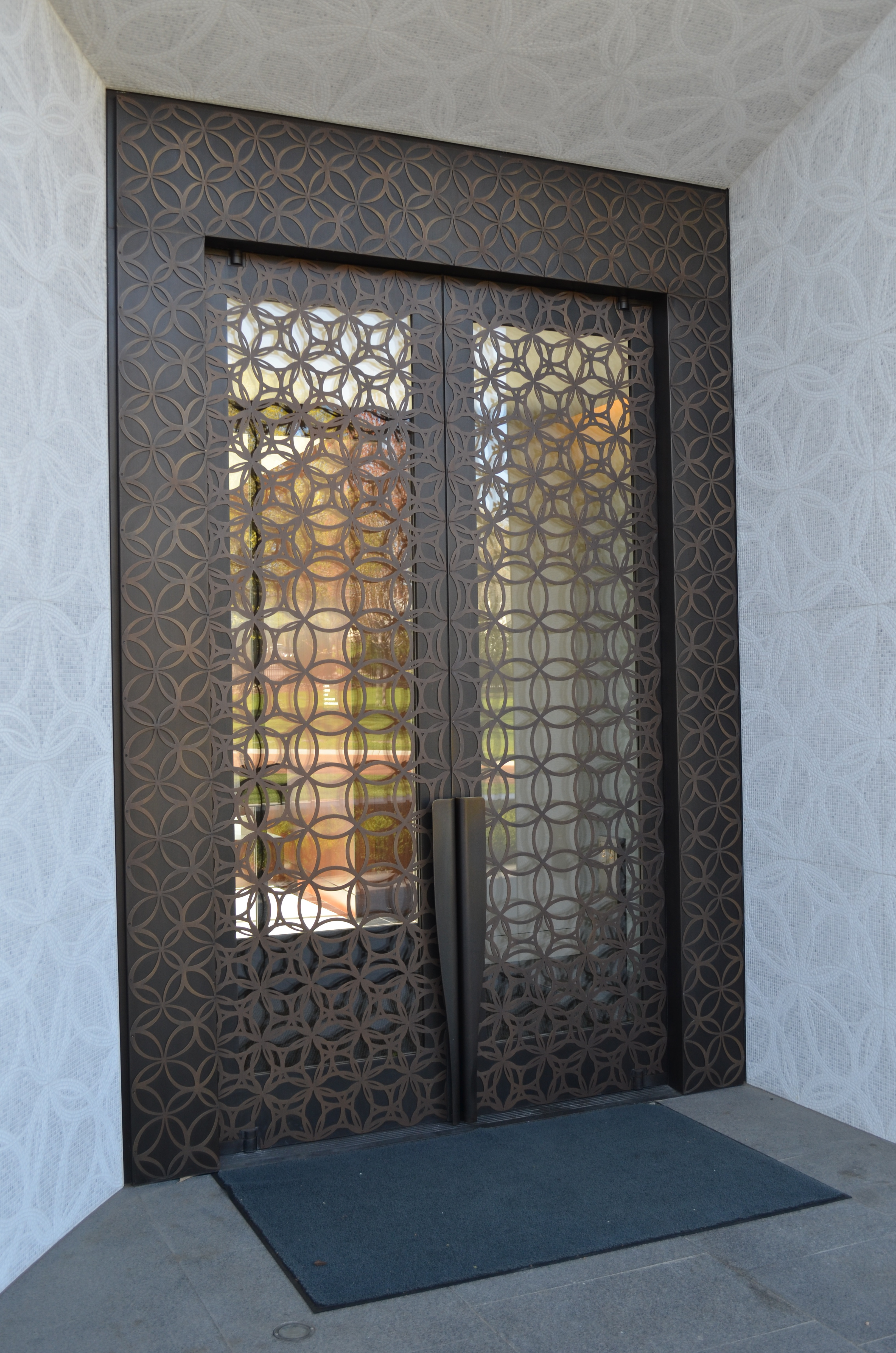 Photo Credit: Empirehouse Inc. & New Mausoleum at Lakewood Cemetery Features Seven Balanced Doors ... Pezcame.Com