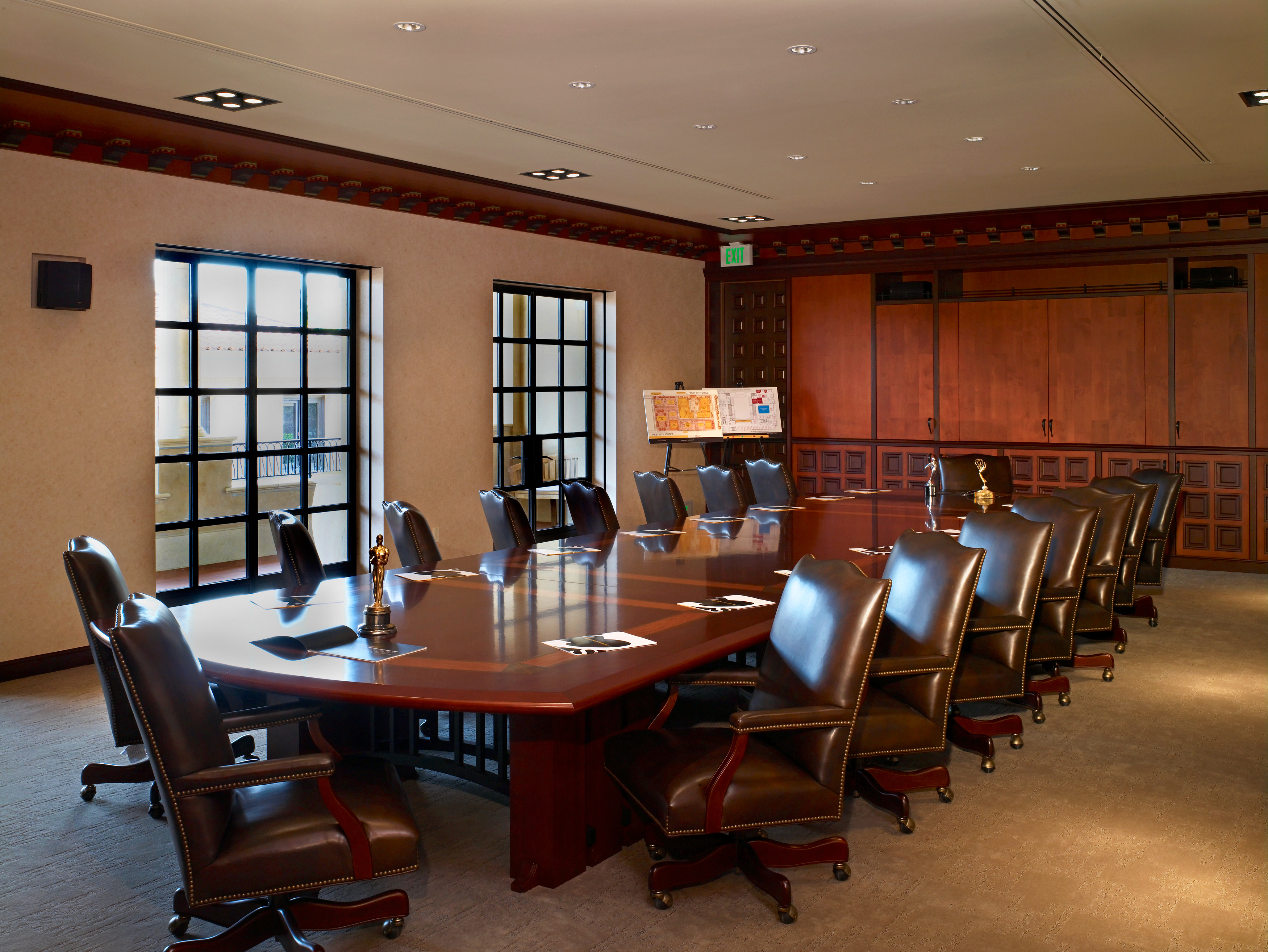 Conference Room With Hopes Windows At USC School Of Cinematic Arts