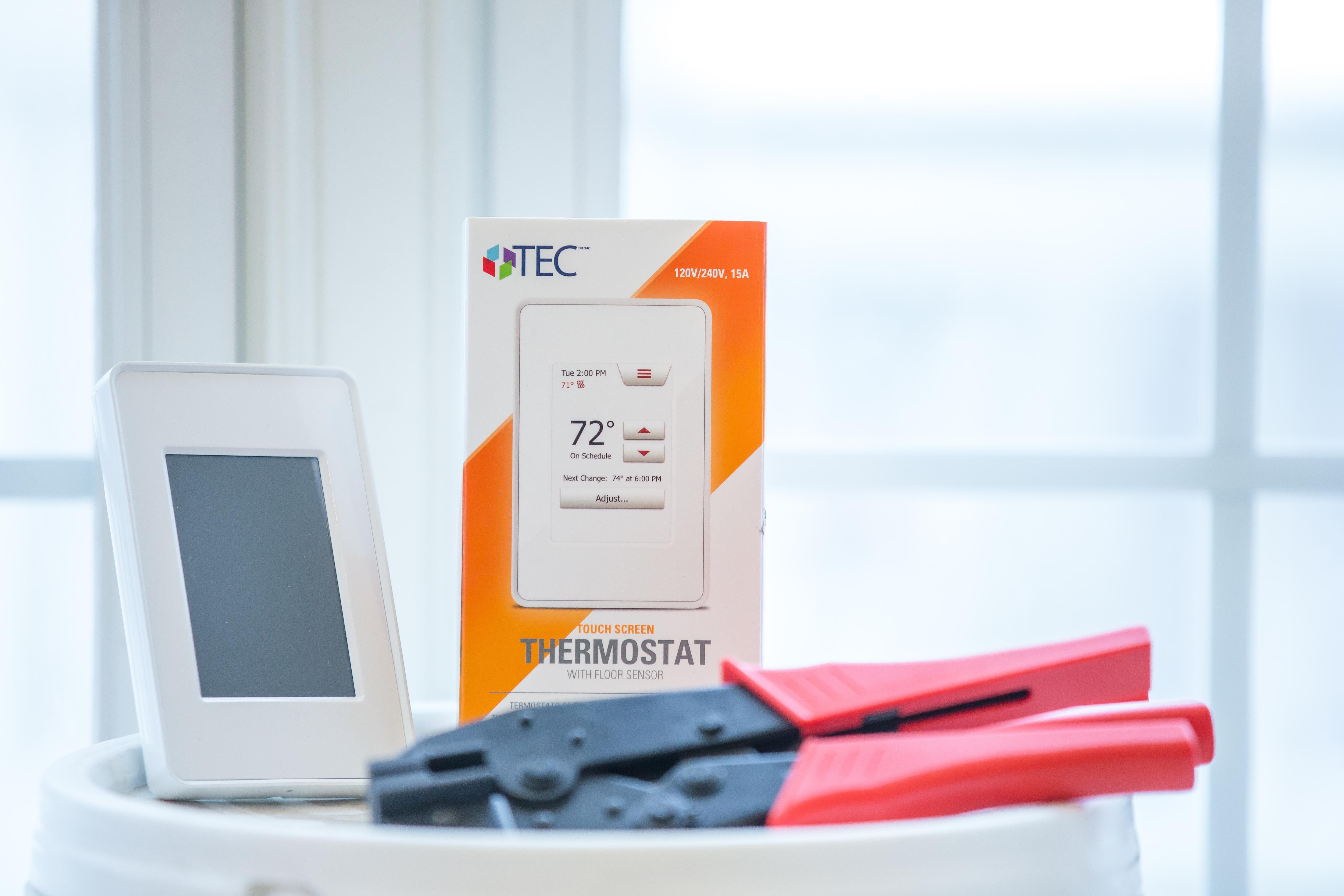 revolutionary tec™ in-floor heat brings warmth and comfort to