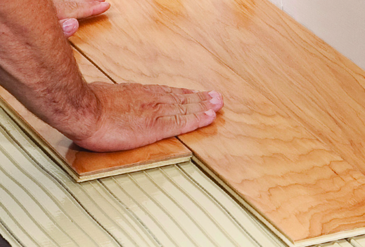 ... New Multi Powered Wood Flooring Adhesive, Developed Specifically For  Contractors Who Install Wood Flooring. The Product Is The  First Of Its Kind, ...